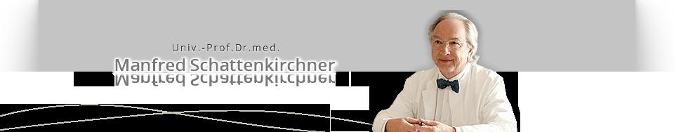 Univ. -Prof. Dr. med. M. Schattenkirchner